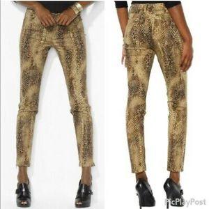 Lauren Ralph Lauren Snakeskin Skinny Pants—2